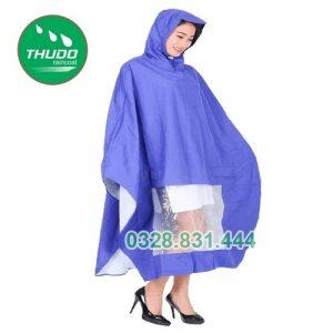 Áo mưa cánh dơi vải nhựa PVC 03