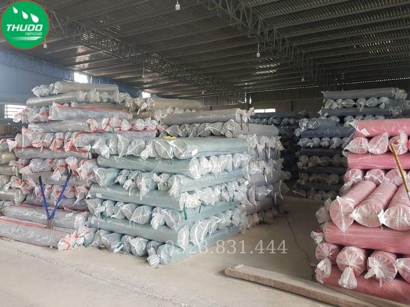 Khu vực xưởng để nguyên liệu